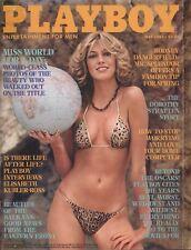 US Playboy Magazine 1981-05 Gabriella Blum, Gina Goldberg, Girls Adriatic Coast