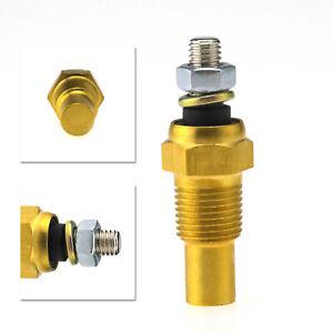 Mini Metal 3.8cm Oil Water Temperature 1/8 NPT Temp Sender Sensor 0°C ~150°C