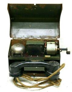 Telefono da campo esercito inglese telephone set 1941