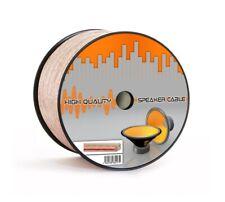 Lautsprecherkabel 50m, 2 x 0,75 mm² Hifi Boxenkabel Audio Box Kabel Lautsprecher