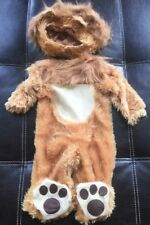 BABY INFANT LION CAT CUB COSTUME 0-6 MONTHS 0-6M ANIMAL DRESS-UP HALLOWEEN
