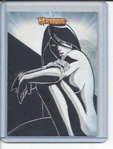 Witchblade Breygent Sketch Card by Juno Sanchez