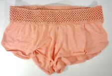 "Med O""NEILL Coral Cotton Shorts Knitted Waistband Swimsuit Coverup"
