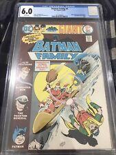 Batman Family #4 CGC 6 DC Comic