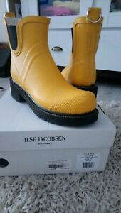 ILSE JACOBSEN HORNBAEK Short Rub High Heel cyber yellow
