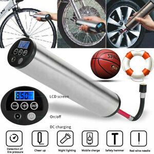 Fahrrad Auto Reifen Luftpumpe LiIonAkku Kompressor Display Elektrische Inflator