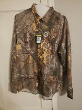 NWT $79.99, Under Armour Men's Chesapeake Camo Realtree Button Up Shirt Small Xl