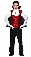 Chicos Vampiro Conde Drácula CHILDS DISFRAZ DE HALLOWEEN Vestido de fantasía Traje