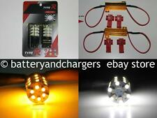 3157 3457 3057 Switchback LED Turn Signal Lights Bulbs 60 SMD  + 2 load resistor