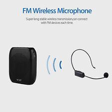 Portable mini FM Wireless Microphone Headset Megaphone Amplifiter For Teacher
