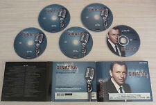 COFFRET 4 CD + DVD DIGIPACK BEST OF FRANK SINATRA LA VOIX DU CROONER 100 TITRES