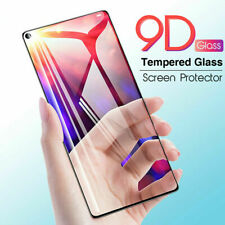 Full 9D Tempered Glass Screen Protector Cover For Samsung S8 note 20 S9 S20 Plus