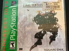 Final Fantasy Anthology (Sony PlayStation 1, 1999)