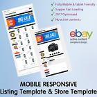 Ebay Template Store Design Listing Responsive Custom Professional Mobile HTML