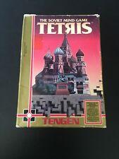 Tengen Tetris ORIGINAL Nintendo NES BOX ONLY Authentic! Rare! Hard To Find LEGIT