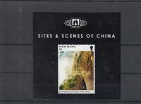 Montserrat 2012 MNH Sites Scenes of China 1v S/S Sanqingshan National Park
