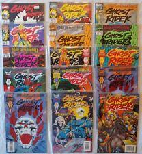 Ghost Rider Lot of 15 (1990's) Marvel Comics #50 (x2)