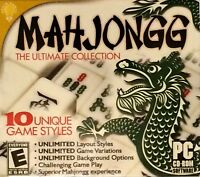 Mahjongg The Ultimate Collection PC Games Windows 10 8 7 XP Computer puzzle game