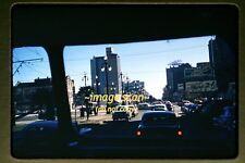 1950's New Orleans Street from Bus, Original 35mm Kodachrome Slide b1a