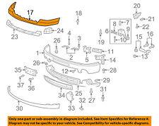 GM OEM Front Bumper-Top Upper Cap Trim 25783617
