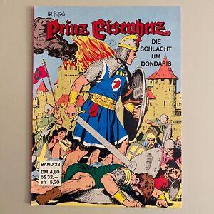 1970er PRINZ EISENHERZ COMIC POLLISCHANSKY Nr.32 Verwöhnter Tyrann-König Dashad