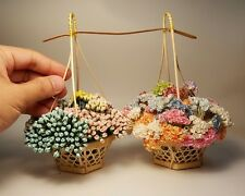 2000 Flowers of Rose and Gypsophila Miniature Mulberry Paper Flowers Wedding