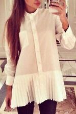 Career Button Down Shirt Unbranded Regular Tops & Blouses for Women