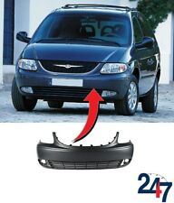 NEW CHRYSLER VOYAGER 2001 - 2004 FRONT BUMPER COVER WITH FOG LIGHT HOLES