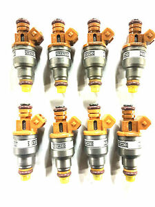 SET OF 8 DENSO OEM FUEL INJECTOR 1988-1995 FORD PRODUCTS 5.0L