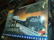 RAIL KING MTH BALTIMORE & OHIO 0-4-0 DOCKSIDER 30-4026-0 Steam R-T-R Train Set