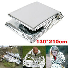 New Outdoor Emergency Folding Tent Blanket Sleeping Bag Survival Camping Shelter