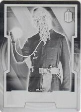Topps 2015 Doctor Who Black Printing Plate 88 Ood Sigma 1/1 UNIQUE!