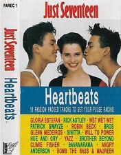 Various Just Seventeen Heartbeats CASSETTE ALBUM ELECTRONIC SYNTH-POP ROCK 16TRK