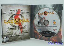 God of War III 3 Original Black Label Playstation 3 PS3 Video Game Rare EX COND