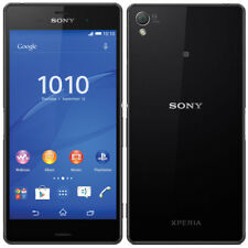 Unlocked Android Smartphone Sony Ericsson Xperia Z3 D6603 16GB 3G/4G LTE - Black