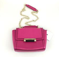 DVF Mini Bag Hot Pink Leather Crossbody Bag Diane Von Furstenberg Lizard Emboss