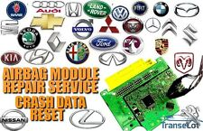 ALL MAKES AND MODELS AIRBAG ECU SRS ECU MODULE CRASH DATA RESET REPAIR SERVICE