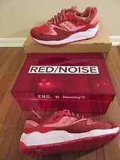 END x Saucony Grid 9000 Red Noise Size 11.5 Red White Brand New In Box Rare Ltd