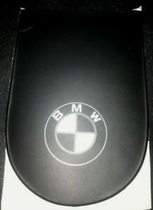 shield-One permit holder in black plastic - white print suitable for BMW