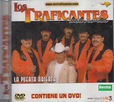 Los Traficantes Del Norte La Puerta Abierta CD+DVD New Nuevo
