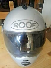 Roof RO10 Silver Motorcycle helmet. Size 60-L.