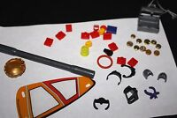 Playmobil Lego Accessory Lot Crown Boat Sail Treasure Chest Playmobile  --FFX+