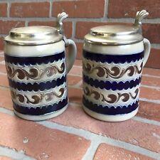Set of Vintage Reinhold Merkelbach German Beer Steins