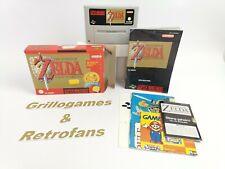 "Super Nintendo | "" The Legend of Zelda a link to the Past  "" | Snes | Ovp | Pal*"