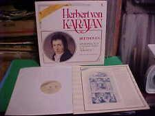 HERBERT VON KARAJAN LP BEETHOVEN SINFONIA 3 'EROICA' 1981 NM VINYL W/ INSERT