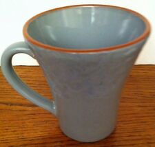 "Val Do Sol Stoneware Portugal Blue-Grey MUG 4 1/2"" Tall"