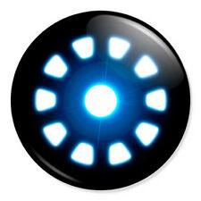 "Iron Man Arc Reactor 25mm 1"" Pin Badge Button Marvel Superhero Robert Downey Jr"