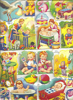 1 Doppelbogen Glanzbilder Baby´s MLP 1306 und MLP 1290 Nr.10