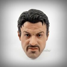 Hot Toys The Expendables 2: BARNEY ROSS Figure 1/6 HEAD SCULPT