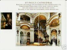 Gran Bretaña 2008 St. Pauls Miniatura Hoja Menta desmontado